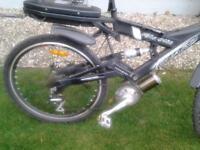 torano bighit mountain bike with electric motor