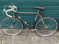Lovely classic Raleigh Pursuit racer road bike