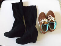 Fashion Boots and Shoes Size 3