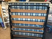 Camp Bed - single size, Excellent condition