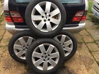 Ford 5stud 16inch alloys and as new tyres