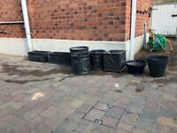 8 Assorted Plant Pots for sale