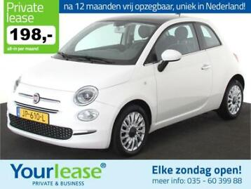 Fiat 500 Twinair Lounge All in 198,- Private Lease Na 12MND