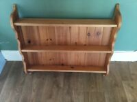 Large solid pine spice rack for sale