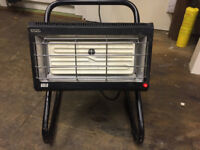 Soloheat Ceramic Infra Red Heater 1400 watt for workshop, shed or outbuilding