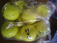 684 golf balls for sale. 12 per packet.57 packets available.