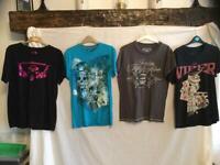Designer print t-shirts