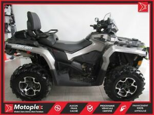2014 Can-Am Outlander Max 800 XT 46,39$/SEMAINE