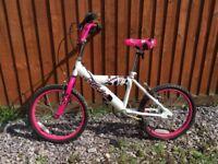 Girls bike good working order age 3 - 9 years £15