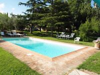 Appartment near Florence in Tuscany shared pool free wifi fre parking