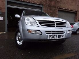 07 SSANGYONG REXTON RX270 DIESEL 4X4,MOT JAN 018,2 OWNERS,PART HISTORY,2 KEYS,STUNNING EXAMPLE