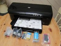 HP officejet 7000 A3 printer and cartridge bundle