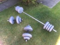 Dumbbells and Chest Press