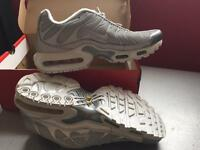 Nike Silver TN's brand new size 9/43