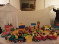 CLASSIC, MASSIVE COLLECTION OF HAPPY STREET AND TRACKS FROM ELC