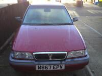 1995 rover 216 sli 1.6 auto