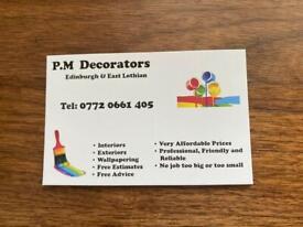 P.M Decorators - Professional Painter and Decorator