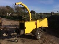1998 Entec Timberwolf 150 wood chipper, used but in good working order