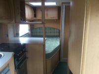 2005 ABBEY VOUGE 415 GTS **FIXED BED 4 BERTH CARAVAN READY TO USE**