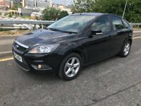 2010 Ford Focus 1.6 Zetec Petrol 5dr hatchback with LONG MOT and FULL SERVICE HISTORY.