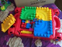 Mega blocks, and fisher price little people Toys