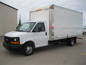 2015 GMC Savana 3500 16 Foot Multivan Cube