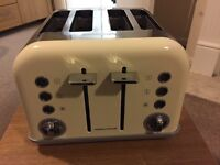 Morphy Richards cream toaster