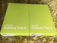 "Samsung Galaxy Tab E 9.6"" brand new"
