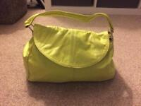 Leather handbag by Issie B