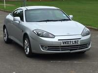 2007 HYUNDAI COUPE SIII 1.6 BARGAIN CHEAPEST LEATHER DRIVES REALLY WELL CHEAP TO RUN INSURE