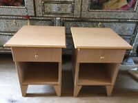 Two bedsides tables