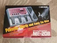 Boss ME-20B Multiple Effects Bass Pedal