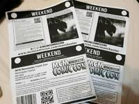 2 x priority manchester comicon tickets