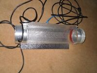 4 hydroponic lights and 1 ballast £100