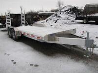 2015 Eby 20ft 7Ton Aluminum Equipment Trailer