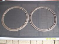 2 GENUINE AGA EXPANSION RINGS