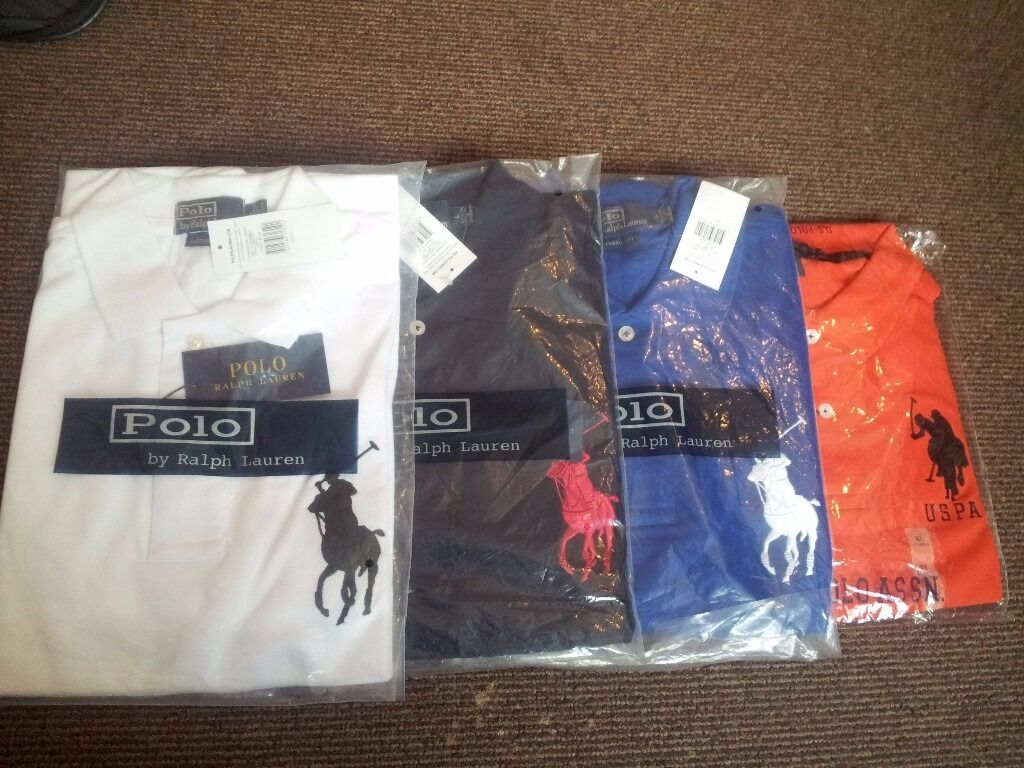 Polo Ralph Lauren Mens, LyleScott, Stone IslandEmporio Armani MensBEST PRICEin Handsworth, West MidlandsGumtree - Polo Ralph Lauren Mens, Lyle & Scott, Stone Island, & Emporio Armani Mens T shirts for the best price ever! Polo Ralph Lauren Small logo, collar 25£ each and 2 for 45£ (available in black, grey, white, blue, red and darker shade of grey) Polo Ralph...