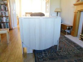 Argos Home Extending 4 - 6 Seater Table - Light Oak Effect