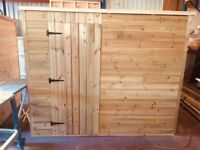 PREMIUM TIMBER 8' X 6' GARDEN SHED