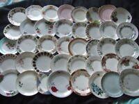 40 Vintage Bone China Tea Plates Wedding Tea Rooms Party Cafe
