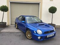 2002 Subaru Impreza WRX Turbo With Only 87.000 Miles !!