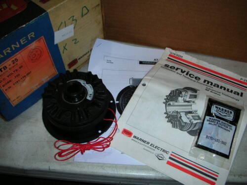 "Warner Electric ATB-25 5191-170-007 Brake Magnet Assembly 3/4"" Bore 90VDC NOS!!"