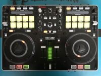 Vestax VCI 380 DJ Controller with CF-X2 Crossfader