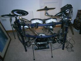 Roland V drums TD 10 expanded electric drum kit