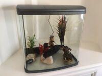 90 litre aquarium tank with all accessories