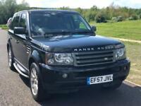 Range Rover Sport 2.7 TD V6 HSE, 3 Months Warranty, 1 Year MOT, 102K Warranted Miles, New Tyres.