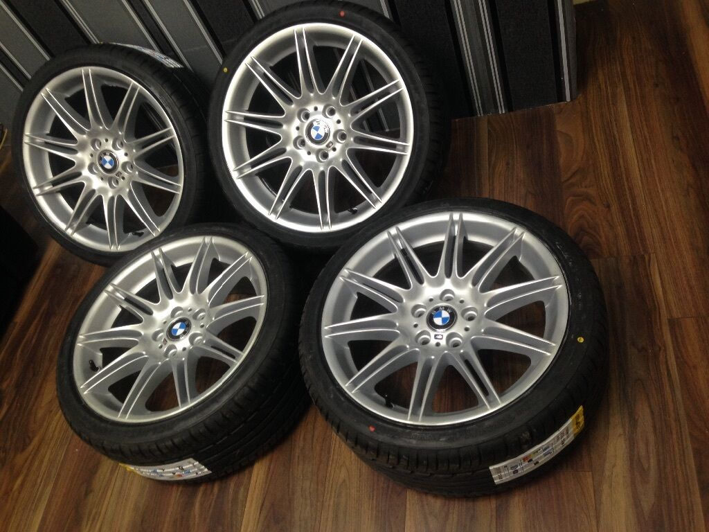 "BMW MV4 19"" inch GENUINE ALLOY WHEELS STAGGERED 4 BRAND ..."