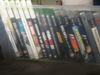 PS3,Xbox one and Xbox 360 games