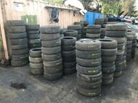 Part Worn/ New Tyres All Sizes