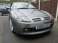 MG TF 1.8 135 Spark Metallic Grey, Excellent condition, 44000 miles
